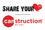 Share your Heart | Canstruction Miami